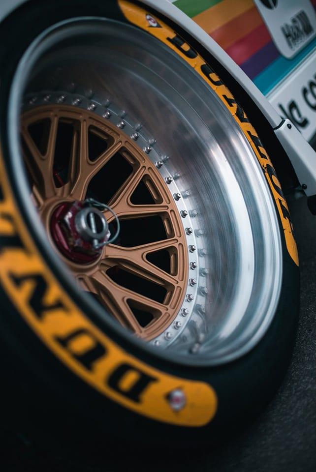 Photo of RWB wheel